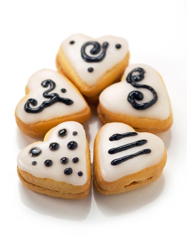 ricetta biscotti glassati