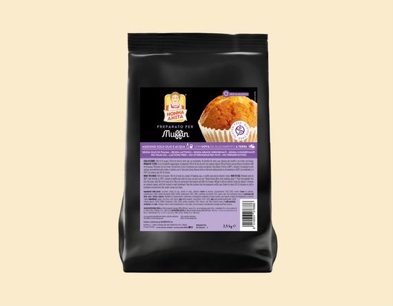 Preparato per Muffin – 2,5 kg