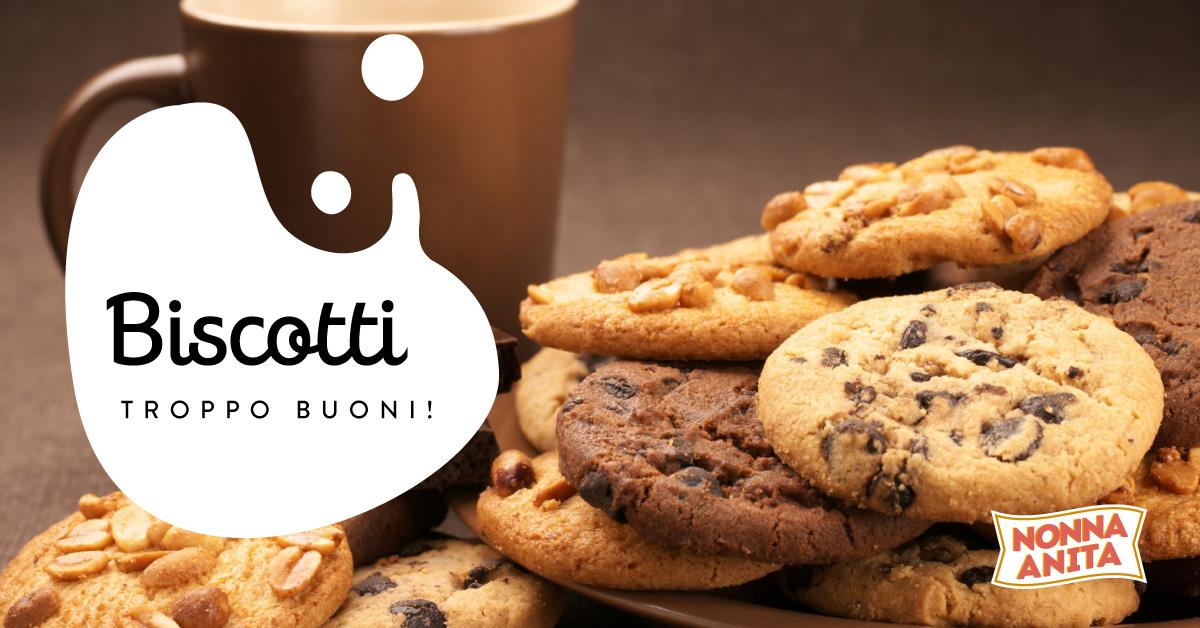 Cookies con gocce di cioccolato, Nonna Anita