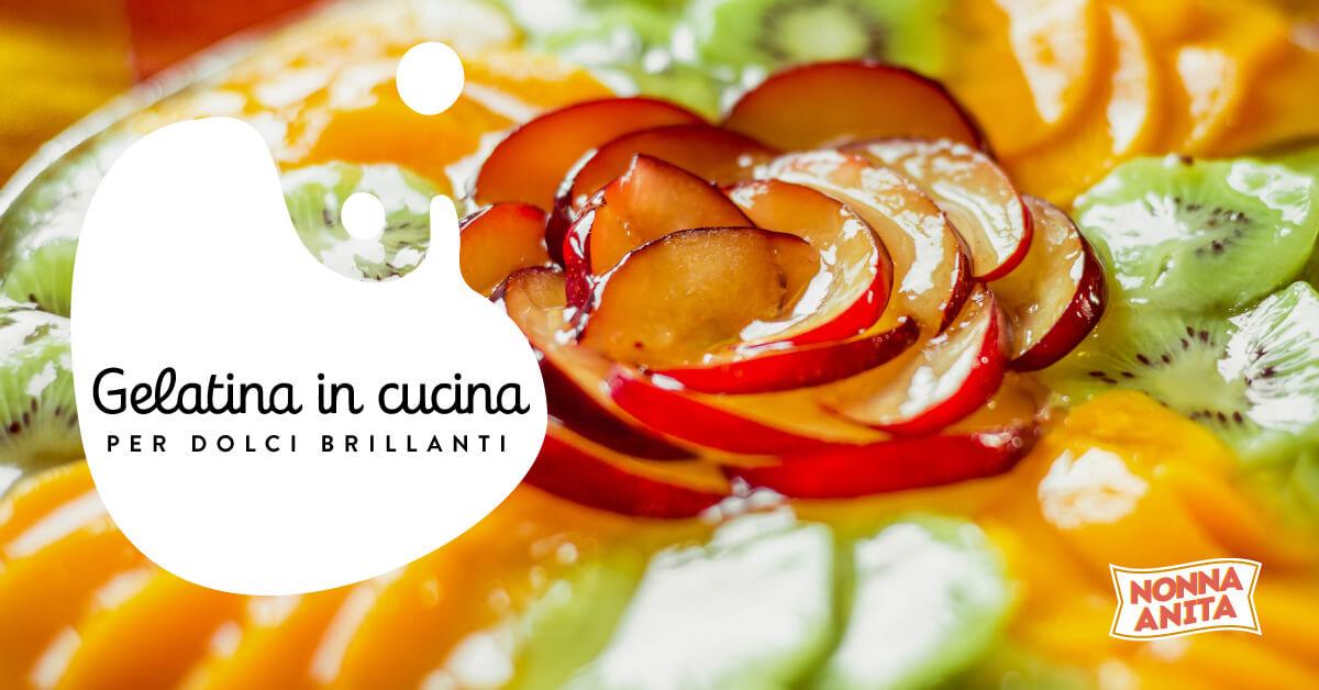 Gelatina in cucina