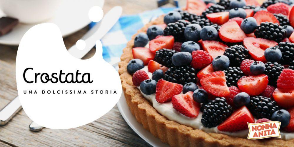 Crostata ai frutti di bosco e fragole, Nonna Anita