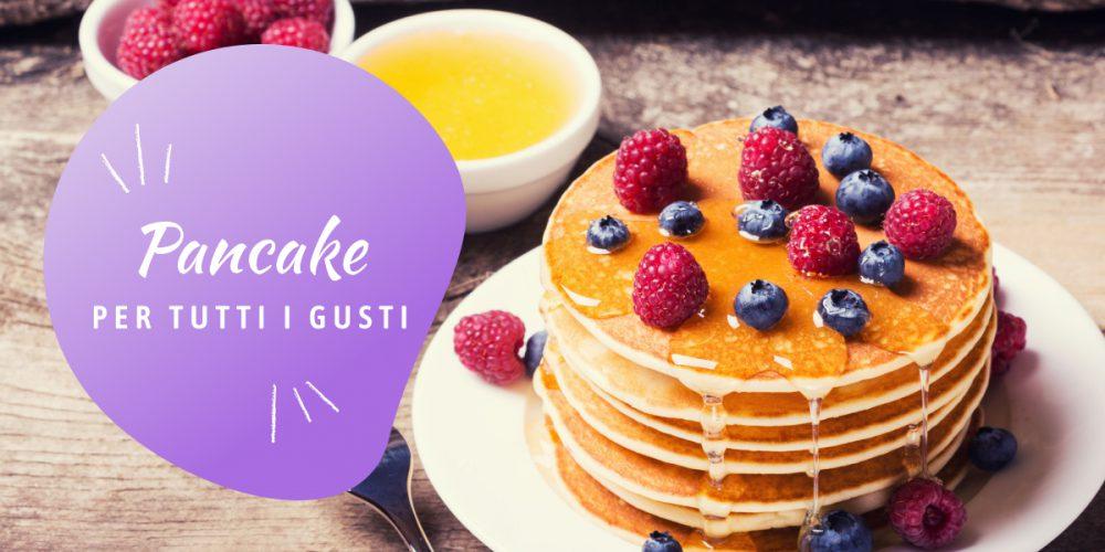 Pancake con sciroppo d'acero, Nonna Anita
