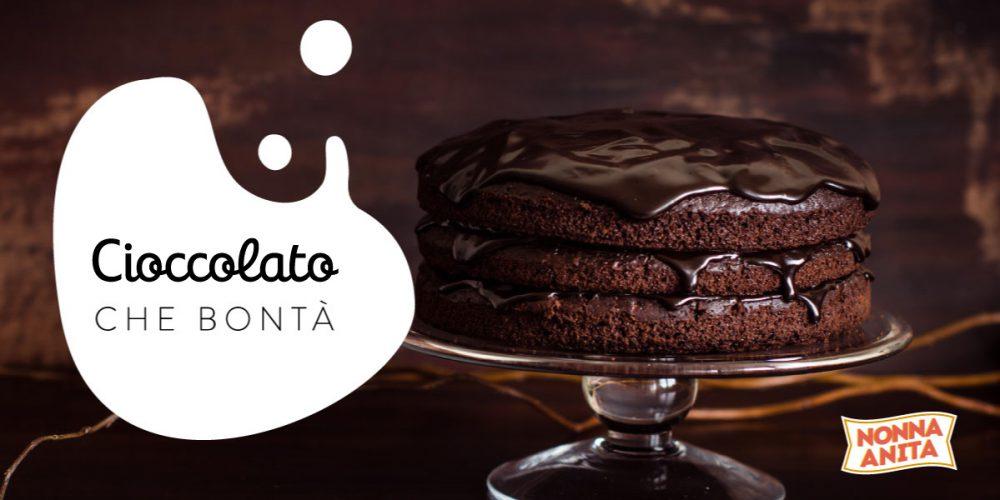 Torta al cioccolato con glassa, Nonna Anita