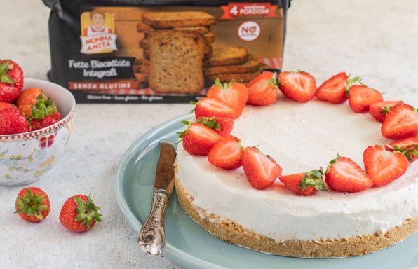 Cheesecake e confezione fette biscottate, Nonna Anita