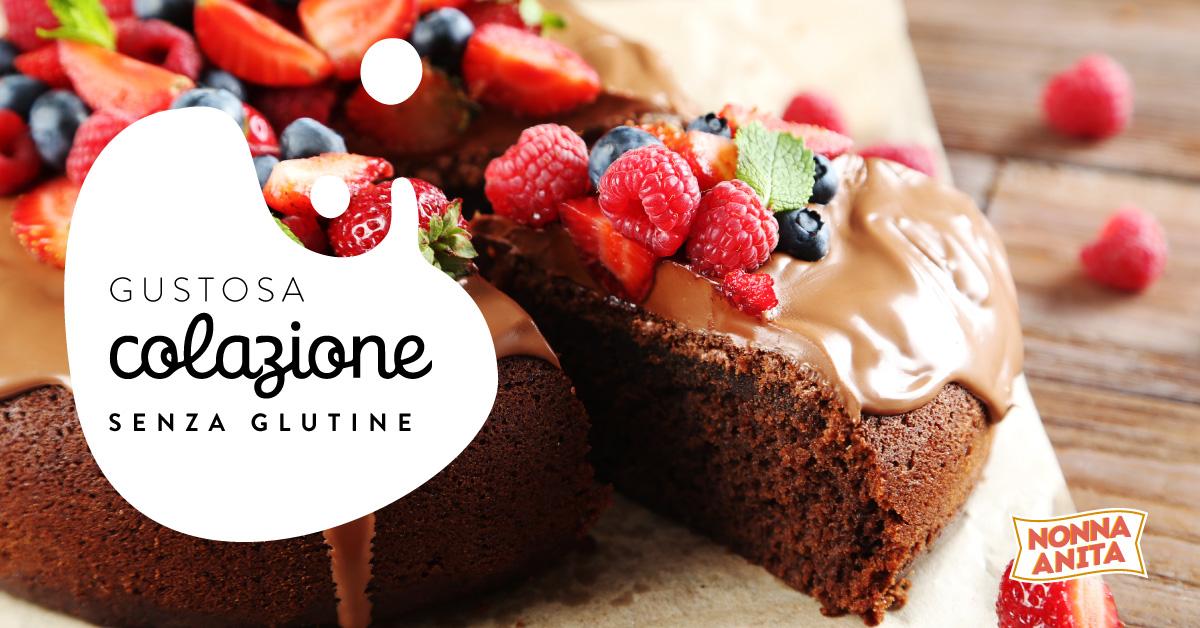 torta al cioccolato senza glutine, Nonna Anita