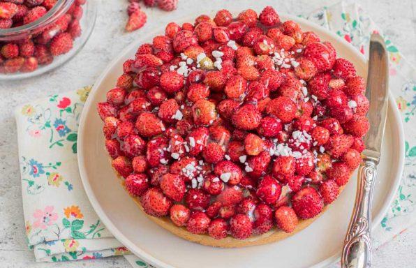 Crostata con fragoline di bosco, Nonna Anita