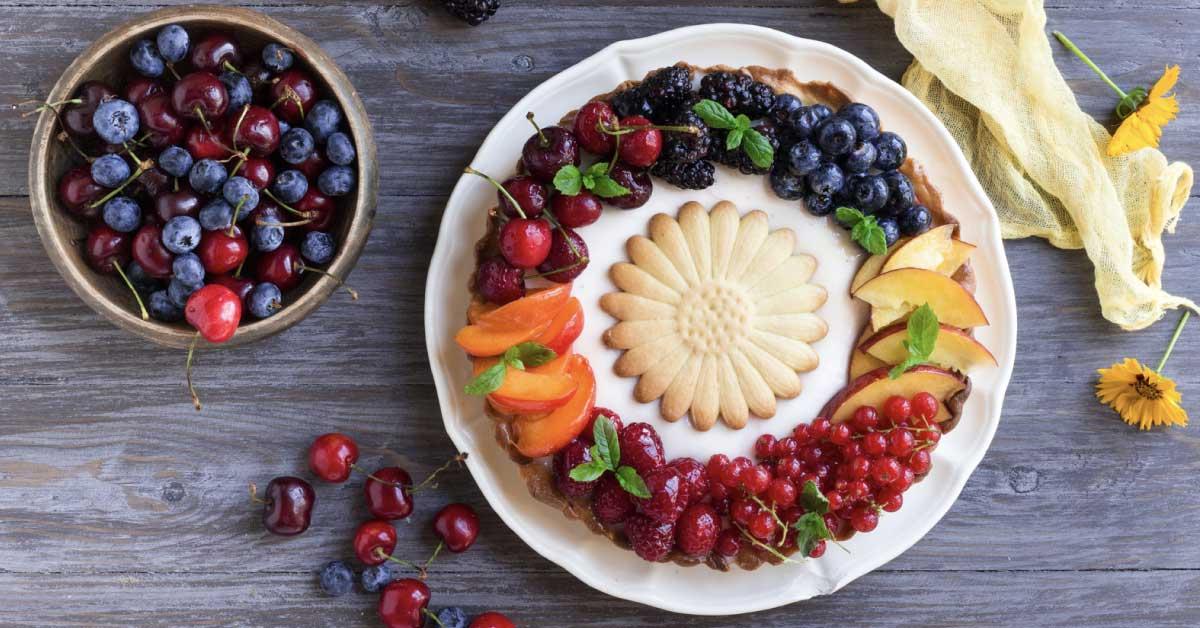 Crostata e frutta fresca, Nonna Anita
