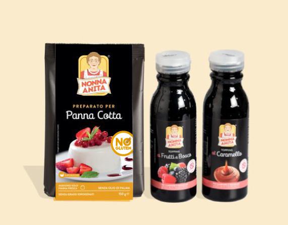 Kit per Panna Cotta
