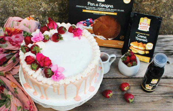 Naked cake glassata, Nonna Anita