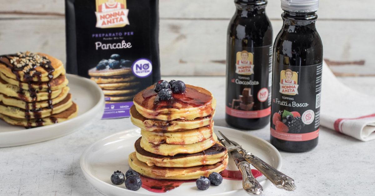 Pancake ai mirtilli, Nonna Anita
