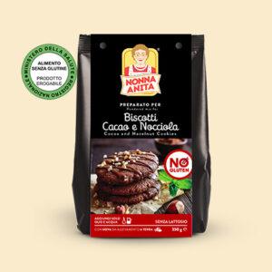 Preparato per biscotti al cacao e nocciola erogabile dal Ministero, Nonna Anita