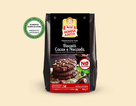 Preparato per Biscotti Cacao e Nocciola