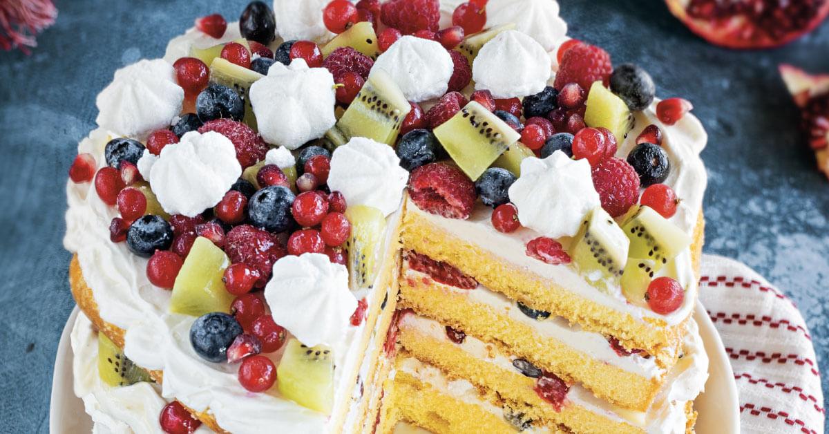 Eton mess cake, Nonna Anita