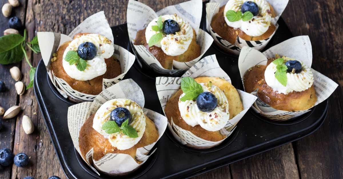 Muffin ai mirtilli, Nonna Anita