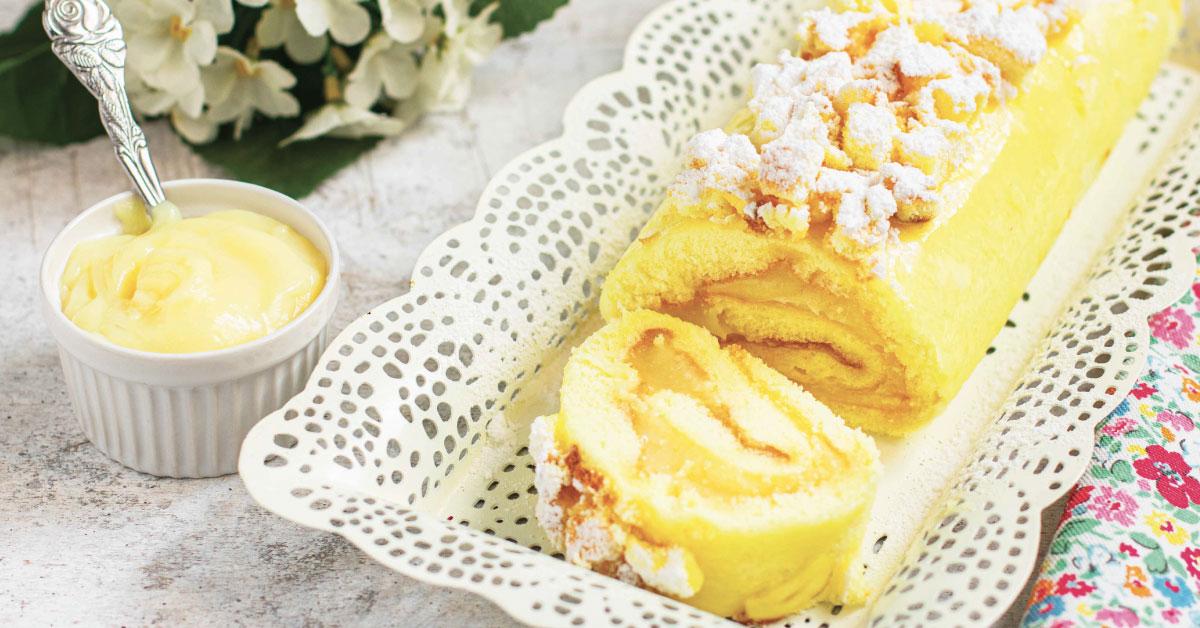 Torta gialla arrotolata, Nonna Anita